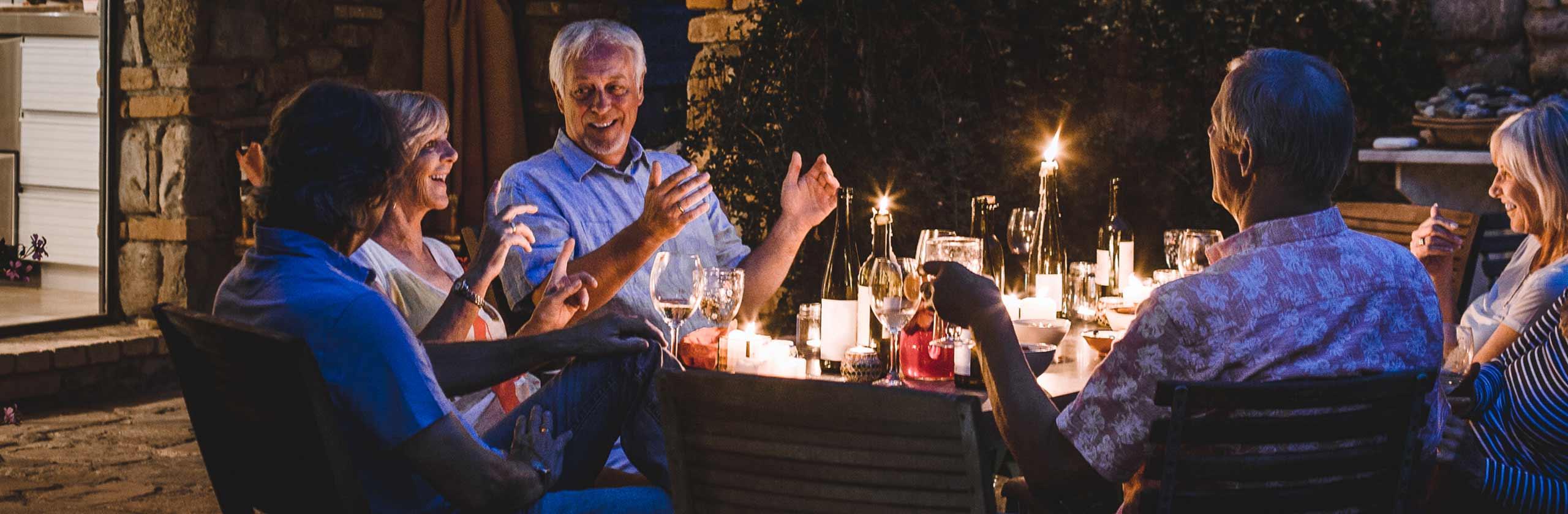 가족들과 함께하는 저녁식사